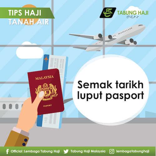 Semak Tarikh Luput Passport