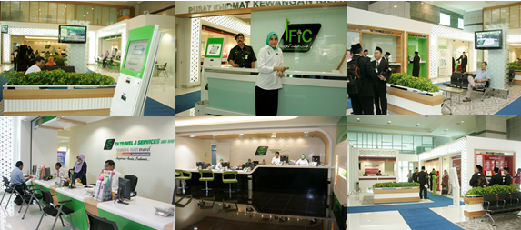IFiC (Islamic Financial Services Centre) Counter