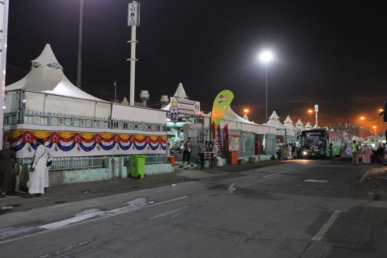 Penempatan Jemaah Haji Di Mina