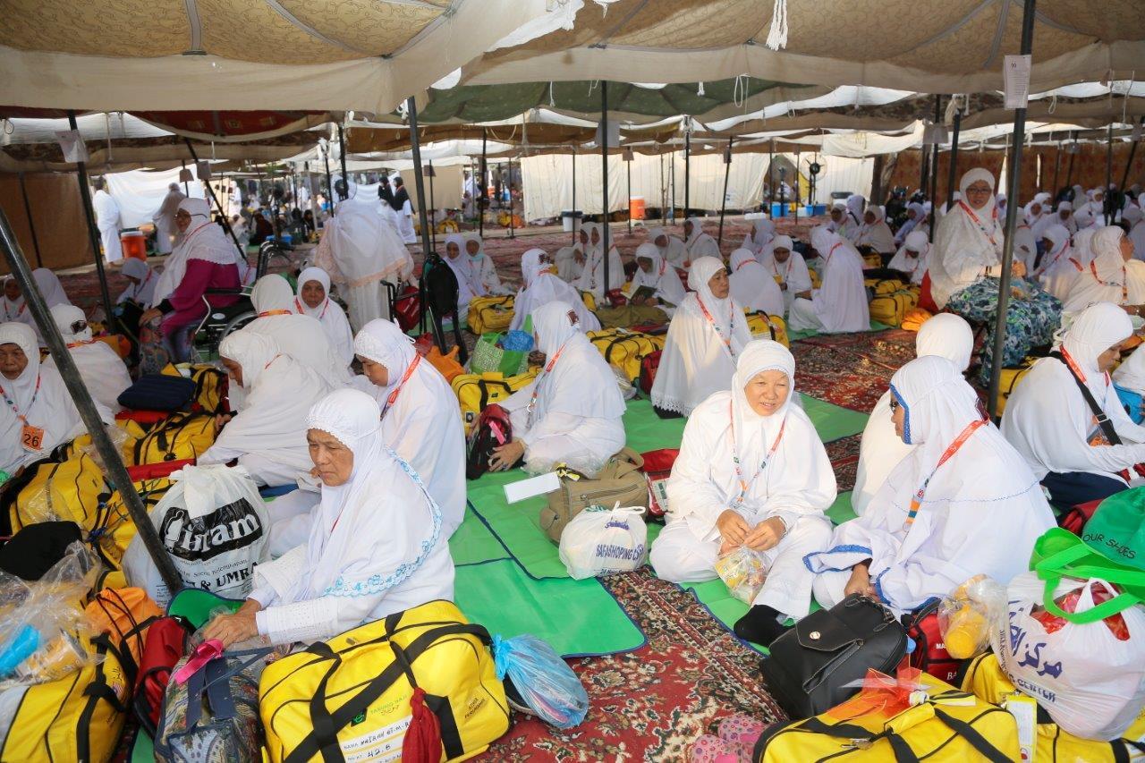 Penempatan Jemaah Haji Di Arafah