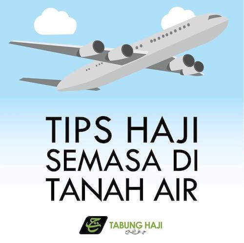 TIPS HAJI TANAH AIR