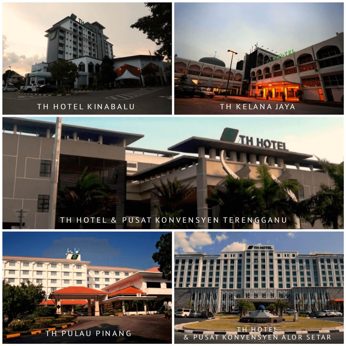 Senarai Hotel TH