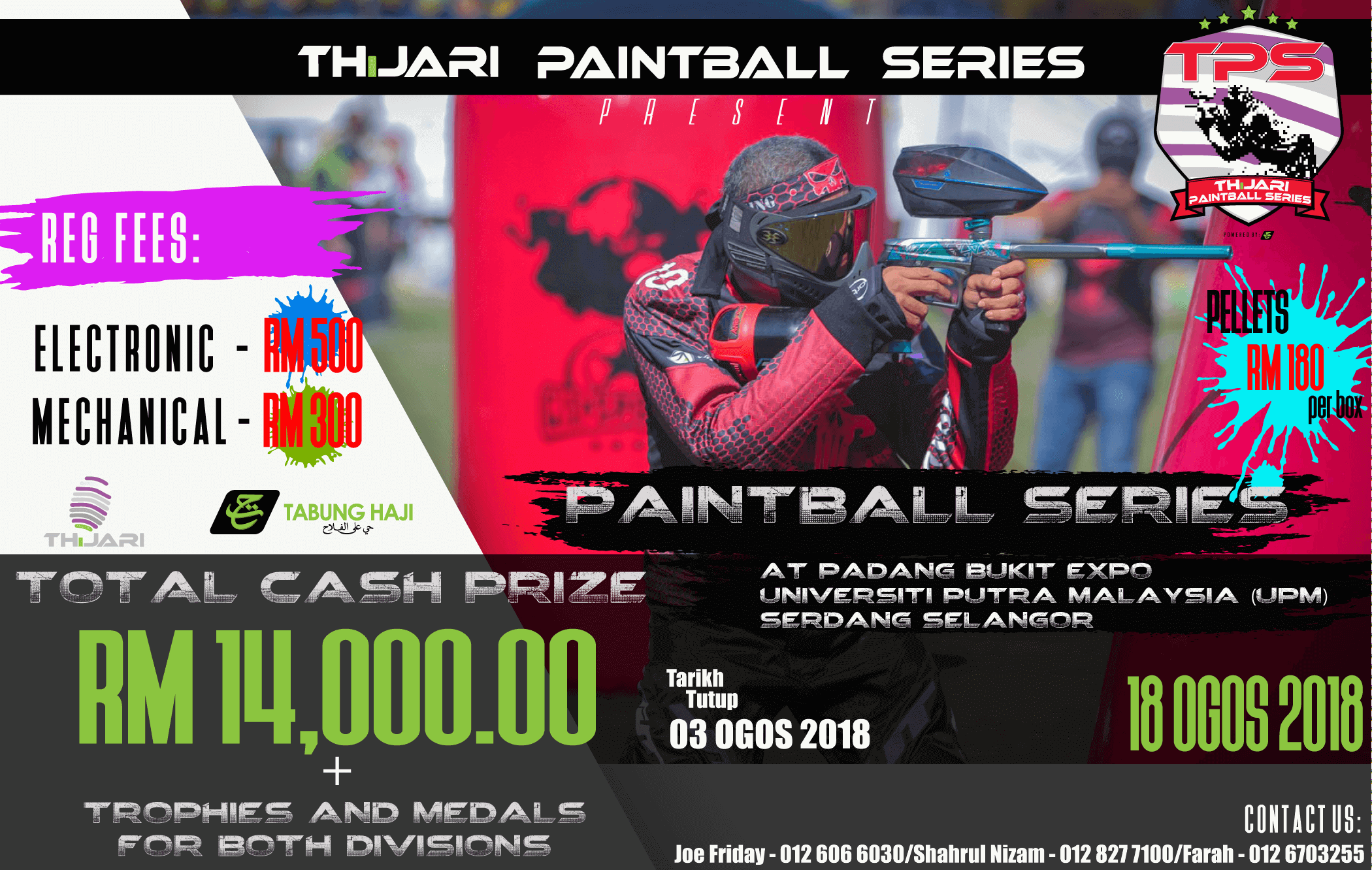 Poster Paintball TPS