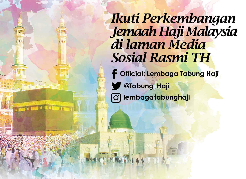 Banner info haji di media sosial TH