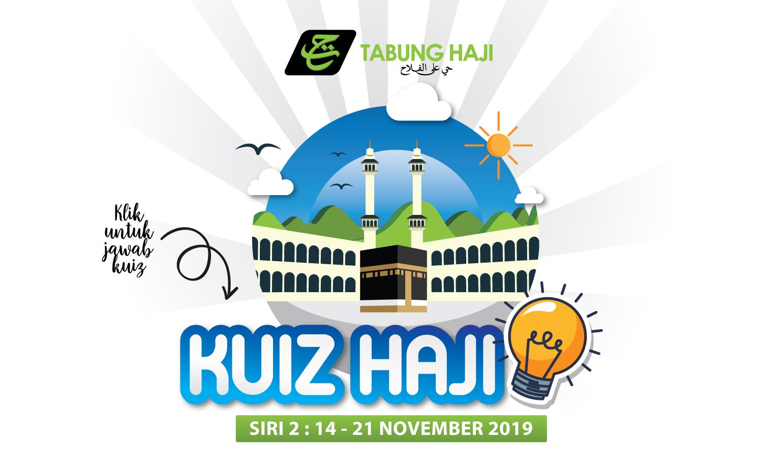 Kuiz Haji Siri 2 (14-21 November 2019)