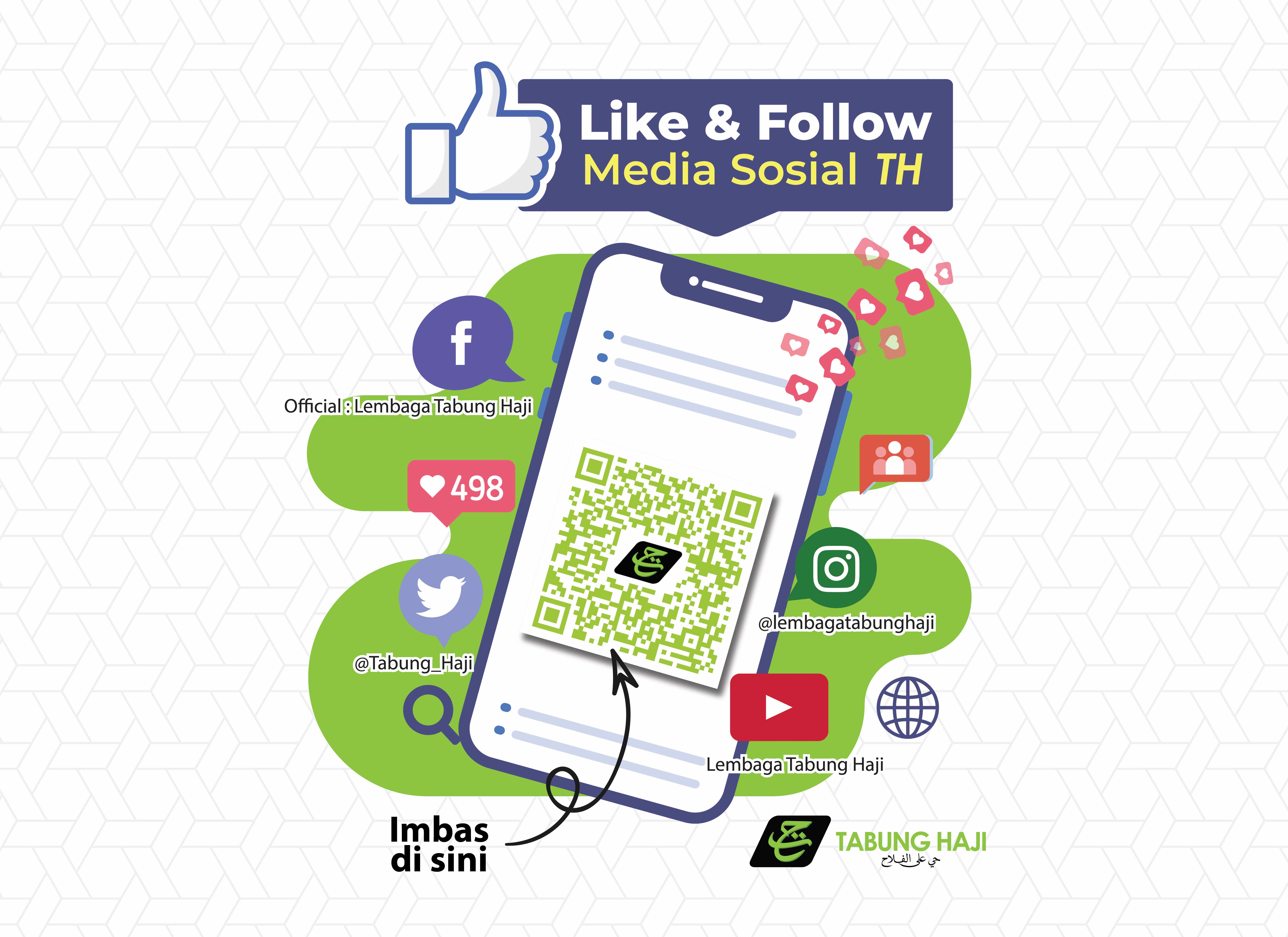 'Like & Follow Us' Di Media Sosial TH