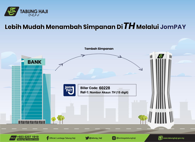 Banner JomPAY Tabung Haji