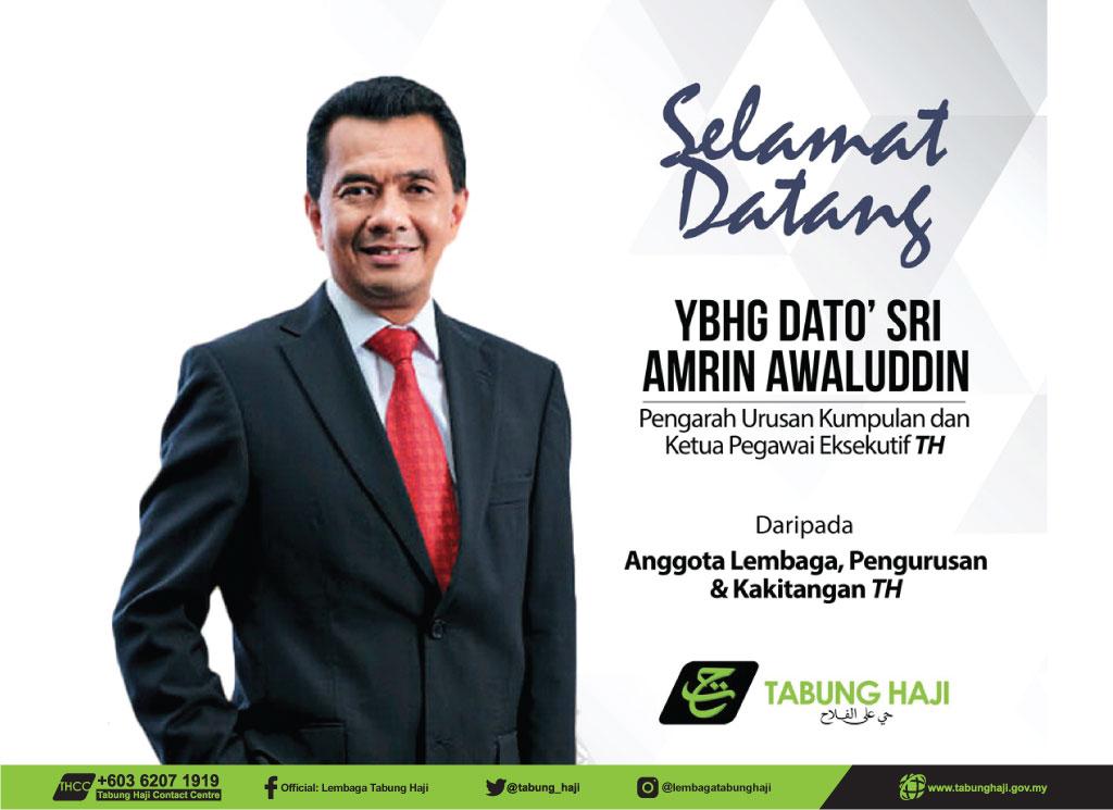 Banner Dato' Sri Amrin Awaluddin