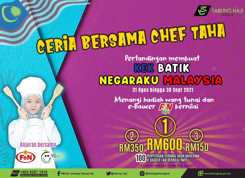 Kelab TaHa - Ceria Bersama Chef TaHa