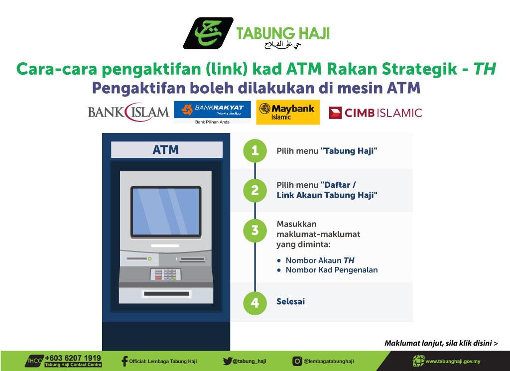 Banner Aktifkan Link Kad ATM