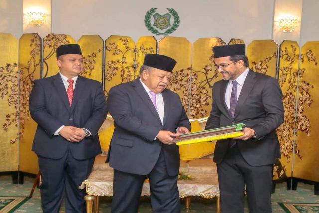 TH Made Zakat Contribution to Majlis Agama Islam Dan Adat Istiadat Melayu Perlis