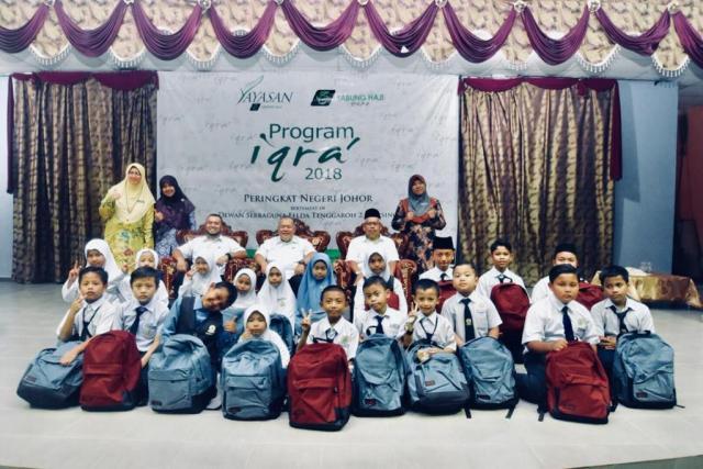 Program Iqra' Yayasan TH 2018 – Peringkat Negeri Johor