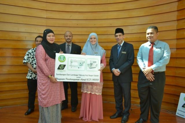 Majlis Penyerahan Sumbangan Program Ikhtiar TH 2018 Peringkat Negeri Sabah