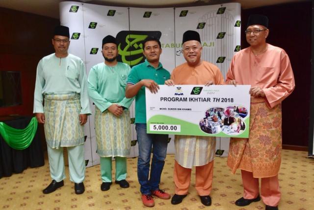 Majlis Penyerahan Sumbangan Program Ikhtiar TH 2018 Peringkat Negeri Johor