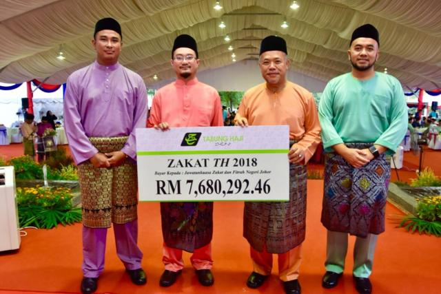 TH's Zakat Payment Empowers The Socio-Economics Of Johor's Asnaf Group