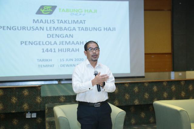 Majlis Taklimat Pengurusan Lembaga Tabung Haji Dengan Pengelola Jemaah Haji (PJH) 1441H/2020M