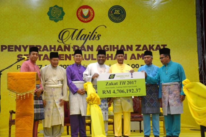 TH Made RM 4.7 Million Zakat Contribution TO Lembaga Zakat Negeri Kedah