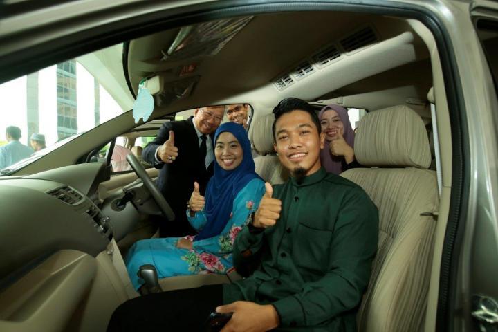 TH Hands Over Grand Prizes for the 61st Majlis Tilawah Al-Quran Peringkat Kebangsaan (MTHQK)