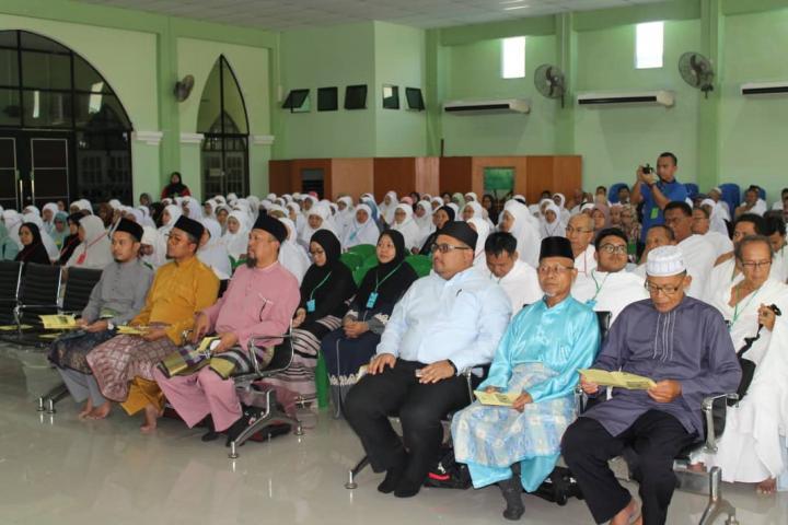 Majlis Perasmian Kursus Perdana Haji Musim Haji 1439H|2018M Peringkat Negeri Zon Utara Sarawak