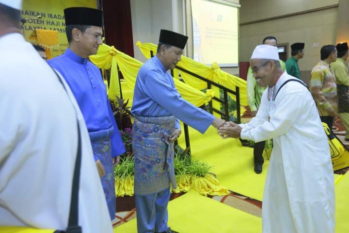 DYMM Sultan Kedah Ucap Selamat Jalan kepada 150 Jemaah Haji Kedah