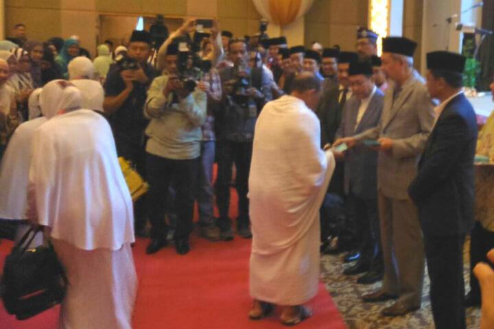 Majlis Mengucapkan Selamat Jalan Kepada Jemaah Haji Negeri Sabah KT18S