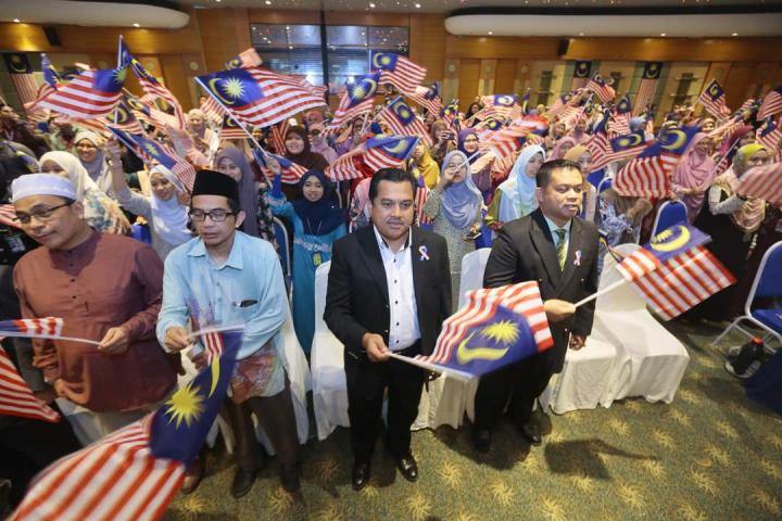 "TH 2018 ""Fly the Jalur Gemilang"" Program."