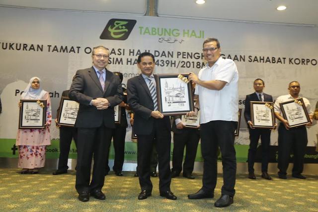 Majlis Kesyukuran Tamat Operasi Haji Dan Penghargaan Sahabat Korporat Musim Haji 1439H/2018M TH