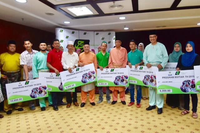 2018 Johor State Level Program Ikhtiar TH Contribution Ceremony