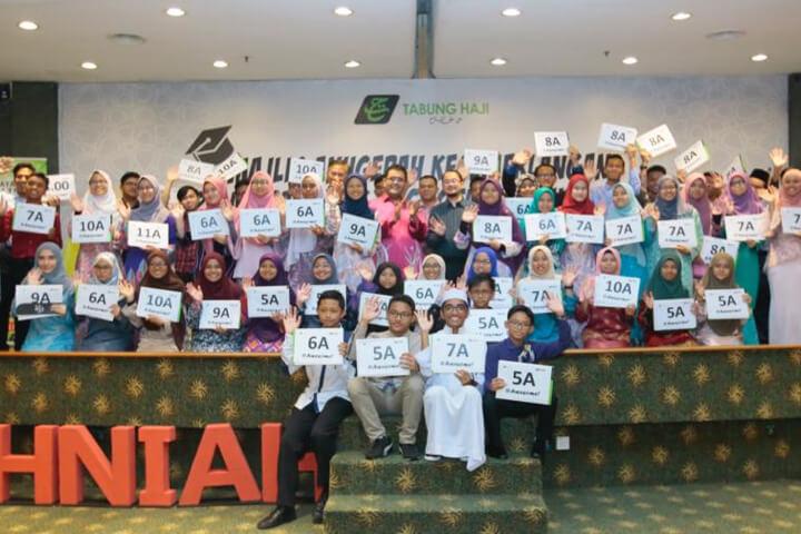Majlis Anugerah Kecemerlangan Pelajaran Anak-anak Anggota TH Tahun 2019