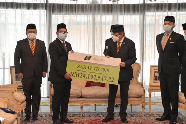 Majlis Penyerahan Zakat TH Negeri Selangor Bagi Tahun 2019