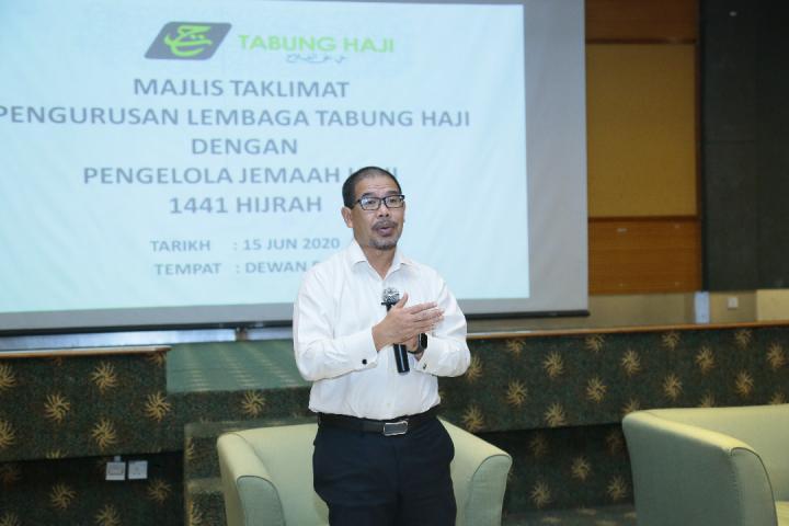Majlis Taklimat Pengurusan Lembaga Tabung Haji Dengan Pengelola Jemaah Haji (PJH) 1441 Hijrah