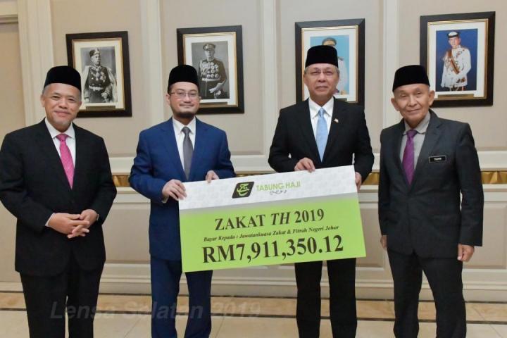Majlis Penyerahan Zakat TH 2019 Negeri Johor