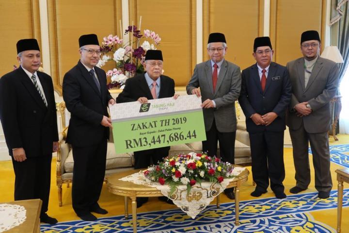 Majlis Penyerahan Zakat TH 2019 Negeri Pulau Pinang
