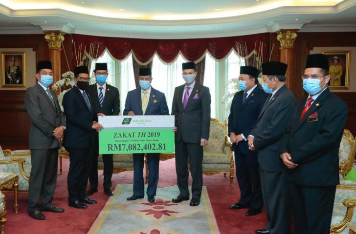 Majlis Penyerahan Zakat TH 2019 Negeri Kedah
