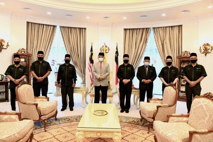 Sesi Kunjungan Hormat PUK/KPE ke Pejabat TYT YDPN Melaka