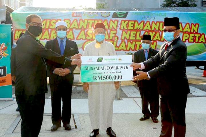 Misi Bantuan Kemanusiaan Kepada Keluarga Asnaf, Nelayan & Petani Di Kelantan