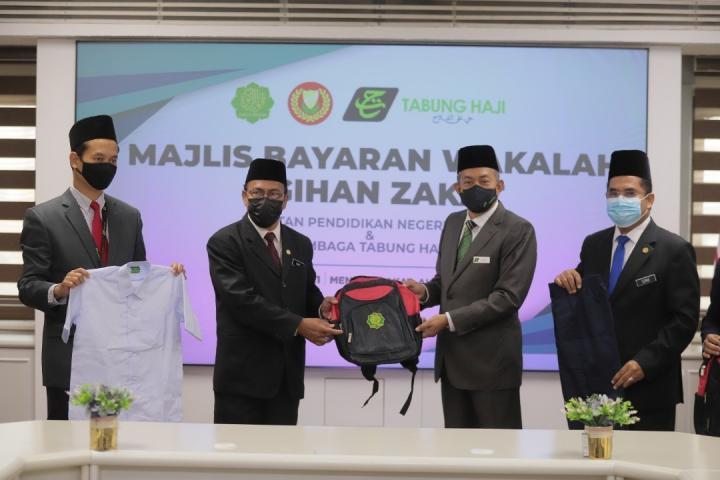 Majlis Penyerahan Program Iqra' TH (UNISHAMS) Dan Sumbangan Zakat Wakalah Lembaga Tabung Haji (TH) Kepada Asnaf di 48 Buah Sekolah Negeri Kedah