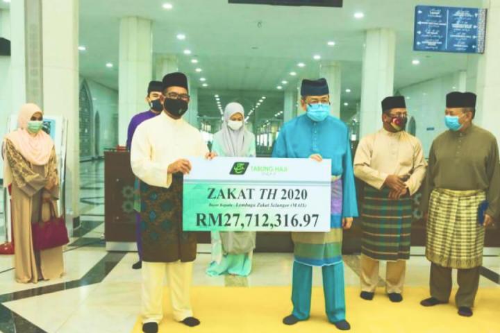 Majlis Penyerahan Zakat TH Kepada Lembaga Zakat Negeri Selangor